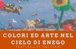 Farben und Kunst am Himmel von Enego - Kite Festival - 18 Juli 2020