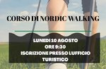 Erster Tag Nordic Walking Kurs in Enego - 10. August 2020
