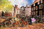 """Workshop """"das Fahrrad in der Kunstgeschichte, durch die Malerei"""" an das Museum von Gefängnissen Asiago-11. Juli, 2017"""