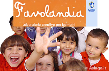 Gallio Favolandia Laboratorio per bambini