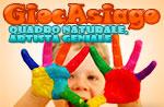 GiocAsiago Labor für Kinder natürliche Rahmen, 13 August Asiago