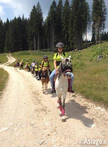 Roana a cavallo 2017 scuola pony per bambini al laghetto for Animali per laghetto