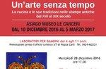 """""""Hexen im Museum-Accogliamole mit Kinderreimen und Kunst"""", Museum von Asiago, 6. Januar 2017 Gefängnissen"""