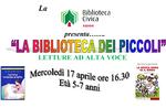 Die Bibliothek des klein-Lesungen für Kinder in der Biblioteca Civica di Asiago-April/Mai 2019