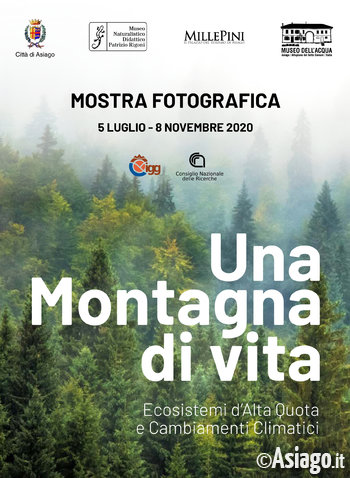 locandina mostra montagna di vita 2020 museo asiag