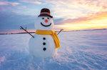 """""""Spaß im Schnee! Helfen Sie uns einen Schneemann zu bauen """"in Mezzaselva bis 30. Dezember 2017"""