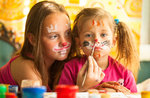 Kinder Workshop mit Kindern in der 3. August 2016 im Treschè Becken,