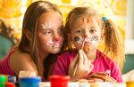 Kreativ-Workshop mit Kinderschminken an in Treschè Becken-25. juli 2018