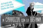 """In der Kutsche mit der Befana"" bei Trescha Conca in Roana - 5. Januar 2020"