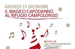 Capodanno 2016 al Rifugio Campolongo di Rotzo, Altopiano di Asiago, 31 dicembre