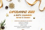 Silvester 2020 in Baita Val Maron, Enego - 31. Dezember 2019