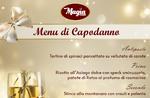 Silvester 2020 - Das vorgeschlagene Menü der Restaurant-Pizzeria MAGIA von Asiago - 31. Dezember 2019