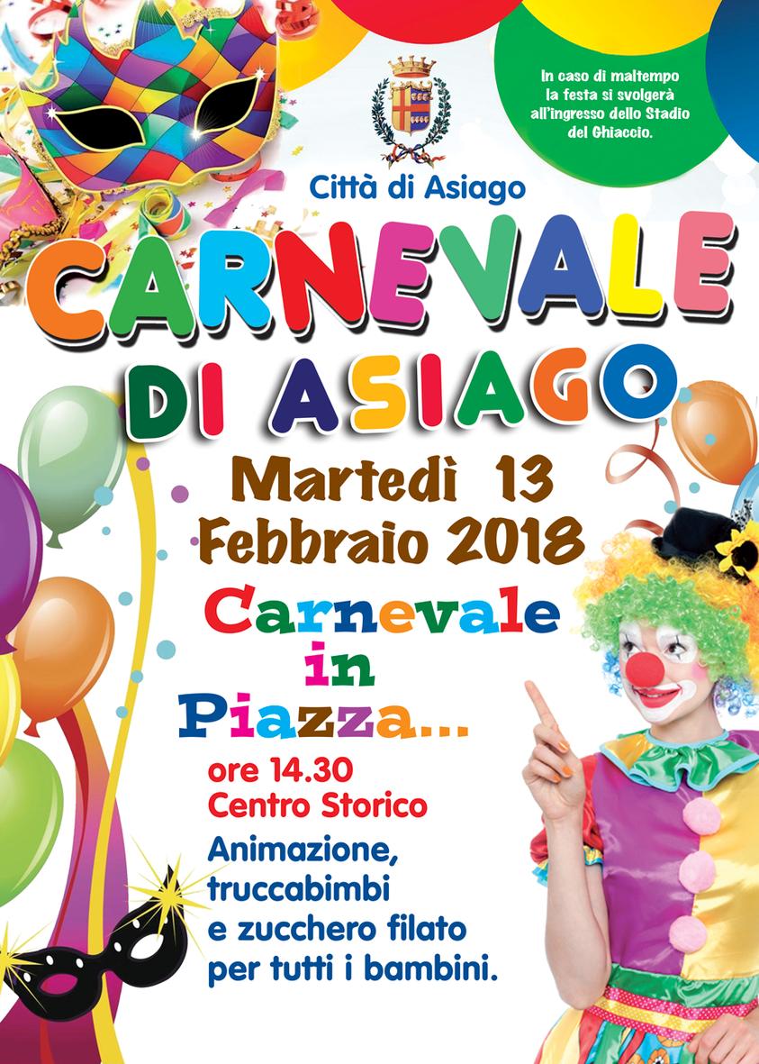 Festa di carnevale in piazza ad asiago marted 13 for Baite ad asiago