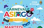 Karnevalsfest auf dem Platz in Asiago - Dienstag 25 Februar 2020