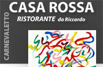 CARNEVALETTO Dinner im Ristorante Casa Rossa, 5. Marz 2014