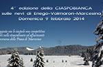 4. Auflage CIASPOBIANCA auf den Schnee von Enego Valmaron Marcesina