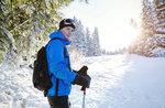 Schneeschuh-Wanderung, Alpine Hütte Bar, Hochebene von Asiago 4. Januar 2017