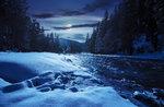 Mondschein-Schneeschuh-Wanderung und Abendessen an der Alpine Hütte Bar, Hochebene von Asiago, 14. Januar 2017