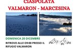CIASPOLATA GUIDATA VALMARON - MARCESINA - Domenica 20 dicembre 2020