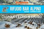 Ciaspolate con cena al Rifugio Bar Alpino - Stagione invernale 2016/17, Altopiano di Asiago