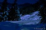 Ciaspolata notturna al Rifugio Bar Alpino, Altopiano di Asiago,26 marzo