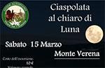 Nacht Schneeschuhtour am Monte Verena mit Guides, 15. Marz 2014