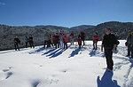 Wanderung Schneeschuhtour-mit Mittagessen an der Alpine Hütte Bar, Asiago Hochebene