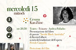 "Hoga Zait 2015 a Cesuna, proiezione ""Rabbit Proof Fence"" e poesie, Altopiano"