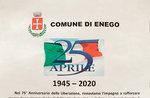 Cerimonia per la Festa della Liberazione ad Enego - 25 aprile 2020