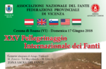 Internationales Treffen von Infanteristen in Cesuna di Roana-17. Juni 2018