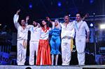 ABBASHOW Konzert mit der schwedischen Band Tribute Band in Asiago 8. Juli 2014