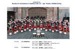 Banda di cornamuse e tamburi del 32°rgt. Trasm. British Army sull