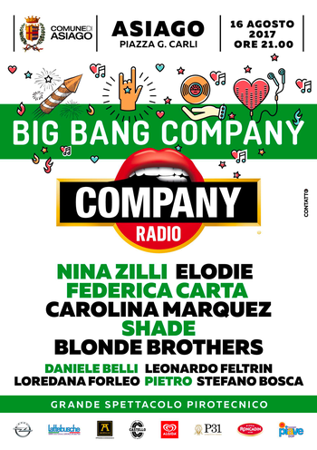 Big bang Company ad Asiago 2017