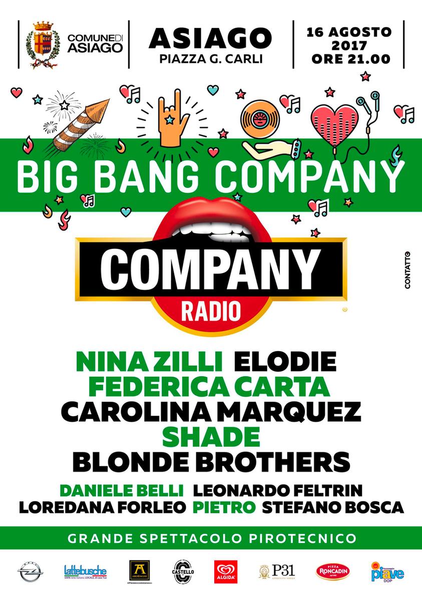 Concerto di radio company ad asiago con nina zilli elodie for Baite ad asiago