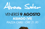ALVARO SOLER Konzert in ASIAGO-9 August 2019