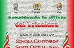 Concerto con Coro Asiago e Schola Cantorum Santa Cecilia ad Asiago - 1 giugno 2018
