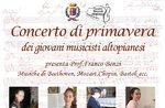 Concerto di Primavera dei Giovani Musicisti Altopianesi ad Asiago - 6 maggio 2018