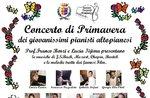 Concerto di Primavera dei Giovanissimi Pianisti Altopianesi ad Asiago - 5 maggio 2018