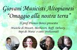 Konzert der jungen Musiker Advantag-Asiago, 19. August 2018