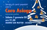 ARMONIE DI NATALE - Concerto di inizio anno in Duomo con il Coro Asiago - 5 gennaio 2019