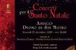 Konzert zur Weihnacht mit dem Musicum Venetiae In Asiago - 27. Dezember 2019