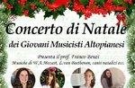 Weihnachtskonzert am 22. Dezember in der Hochebene von Asiago junge Musiker-2018