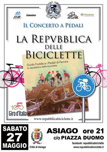 Concerto con la repubblica delle biciclette ad asiago for B b ad asiago