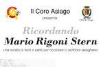 """Konzert-Geschichte """"Erinnerung an Mario Rigoni Stern in Asiago-17 November 2018"""