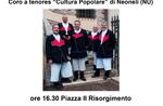 """Tenores """"Volkskultur"""" Chor von Neoneli in Asiago-3 Februar 2018"""