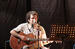 """One man band on the road"" con Domenico Affa Cerroni nel Centro Storico di Asiago - 23 agosto 2018"