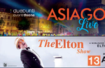 Die ELTON SHOW-Konzert-Hommage an Elton John bei Asiago-13 August 2018