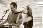 Eva und Remo Live Musik-Rifugio Val Ant Anfang der Lärche