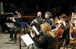 Diapason Konzert Ensemble an Gallium Gaarten Hotel für die Ausstellung Klänge von Highland-Juni 18, 2017