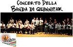 Lavoro, ci ragiono e canto, Concerto Banda di Quinnipak, Teatro Millepini Asiago